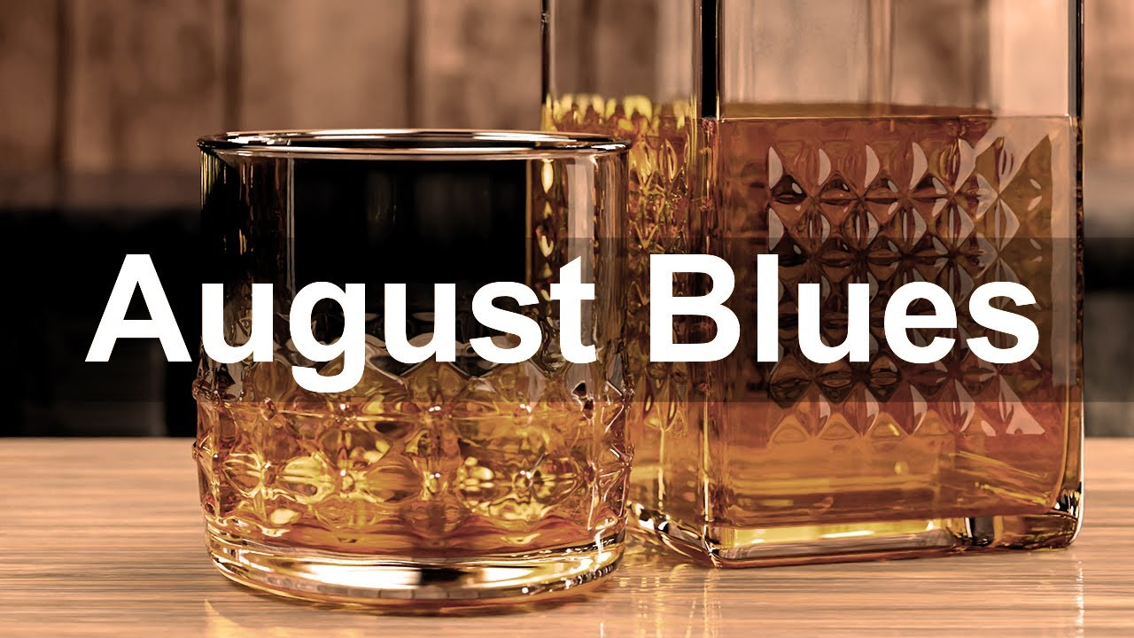 August Blues - Relax Late Summer Blues Music - Emotional Blues Piano and Guitar