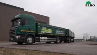 Zestaw rolniczy Scania z przyczepą w firmie SIEMBIDA