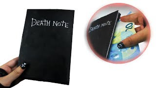 Cómo hacer un Death Note con escondite secreto - Tutorial Death Note