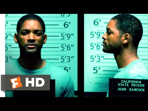 Hancock (2008) - Your Head is Going Up His A** Scene (5/10) | Movieclips