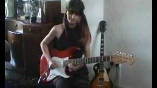 "Girl Guitarist Jacqueline Mannering Age 15 ""Phantom Of Rock"""
