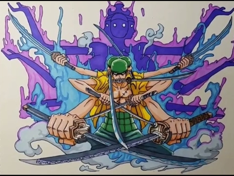 Comment Dessiner Roronoa Zoro One Piece People Cool Youtube
