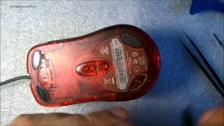 Repair mouse Microsoft 1.1A / Ремонт мышки