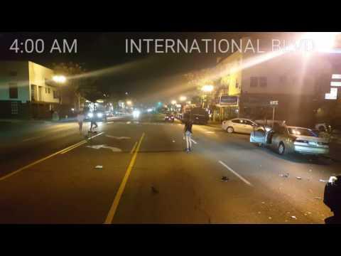 Prostitutes arguing in East Oakland
