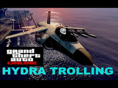 GTA5 HYDRA TROLLING (Got Kicked Out The Lobby)