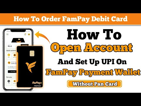 How To Create Account On FamPay Payment Wallet  // How To Order FamPay Debit Card // FamPay // TP