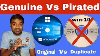 Genuine Vs Pirated Windows | Pirated vs Genuine Windows | Technical Guptaji