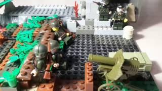 видео: 2 МИРОВАЯ! лего мульт