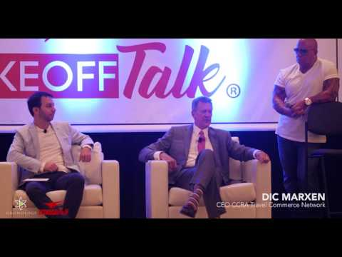 Dic Marxen, CEO CCRA Travel Commerce Network - Takeoff Talk Las Vegas 2017