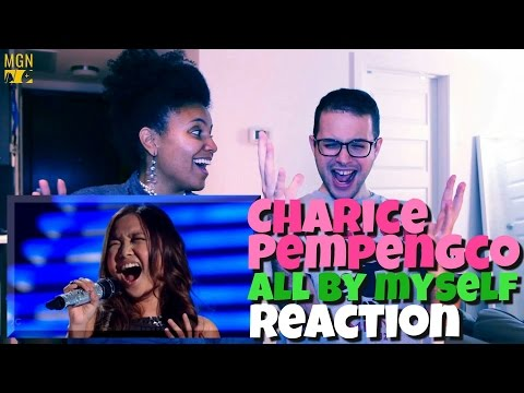 Charice Pempengco - All By Myself (Celine Dion) Reaction