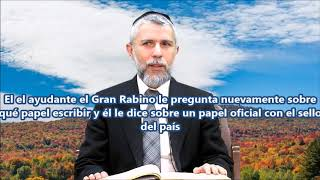 Comportarse con INTELIGENCIA, Ha Rabbi Zamir Cohen
