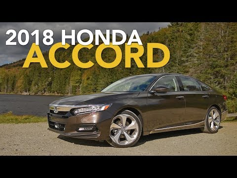 2018 Honda Accord Review - First Drive
