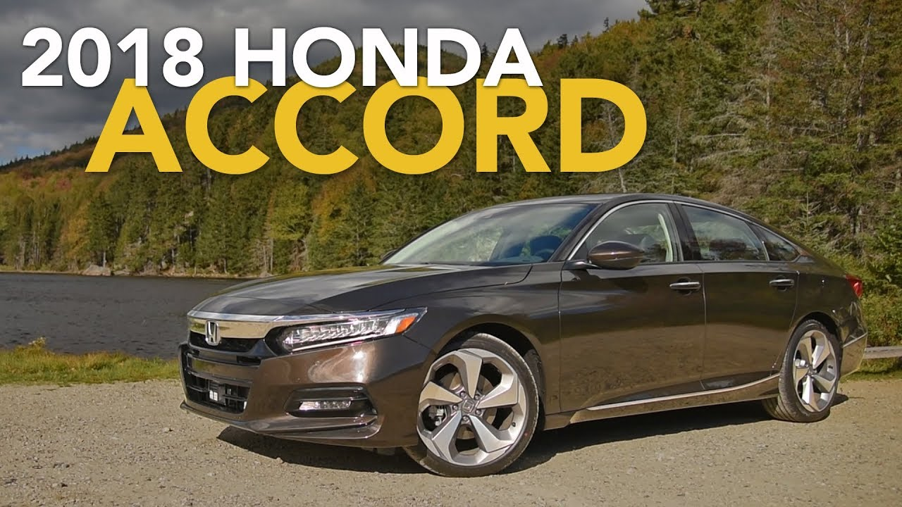 2018 Honda Accord Review - First Drive - YouTube