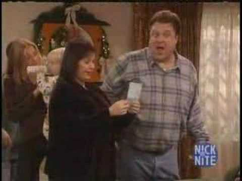 Roseanne - Christmas Episode Clip - YouTube