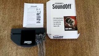 Evans Soundoff for kick drum