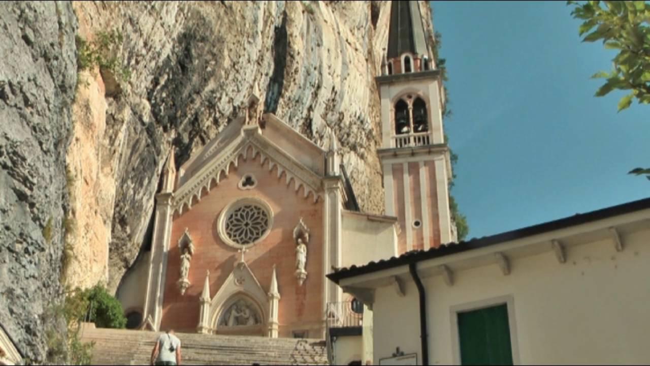 2016 madonna della corona santuario in italia youtube for Santuario madonna della corona