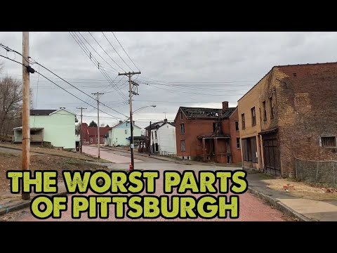 I drove through the WORST parts of Pittsburgh, Pennsylvania. This is what I saw.