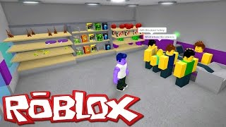 Roblox → O MERCADÃO DO SPAGZOX! - Retail Tycoon #1 🎮