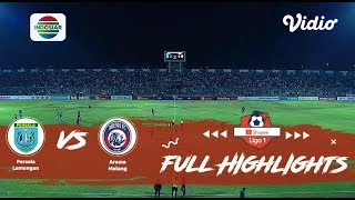 Persela (2) vs (0) Arema - Full Highlight | Shopee Liga 1