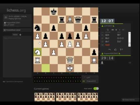 Atomic chess simul on lichess.org (streamed)