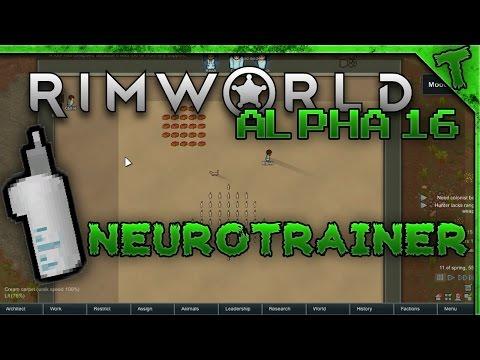 Rimworld Alpha 16   Neurotrainer