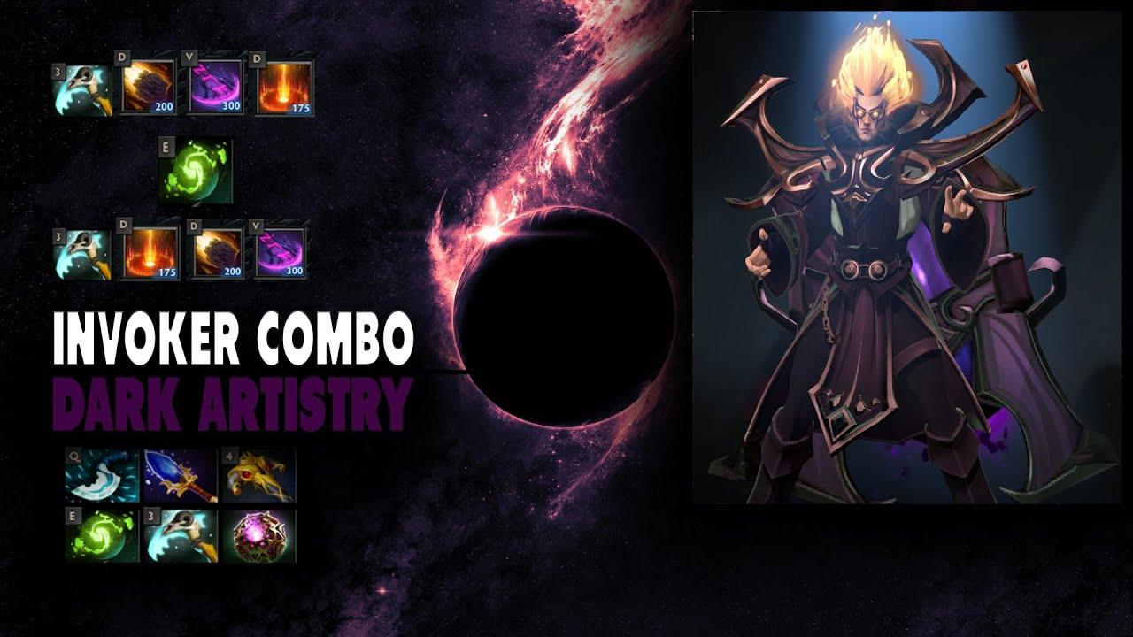 Dota 2 Invoker Dark Artistry Combo