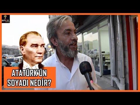 ATATÜRK'ün Soyadı Nedir? - Kayseri Sokak Röportajları #20