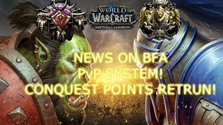 WoW BFA NEWS PvP SYSTEM! - Channel Plans!