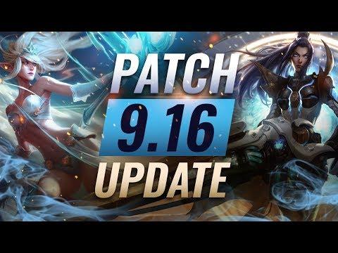 NEW UPDATE: Best Champions TIER LIST – League Of Legends Patch 9.16