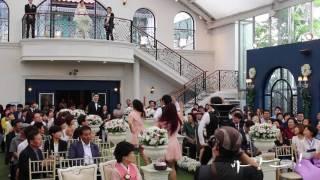 목동 스카이웨딩홀 뮤지컬웨딩 바람그림 결혼식 신랑입장 …