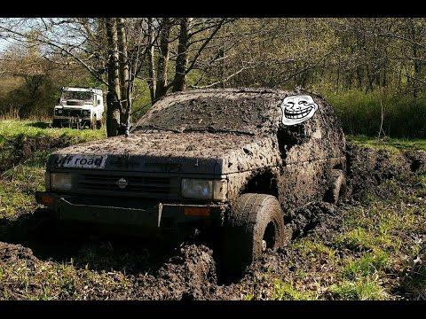 nissan terrano off road Pathfinder Off Road 4x4 ниссан террано по бездорожью