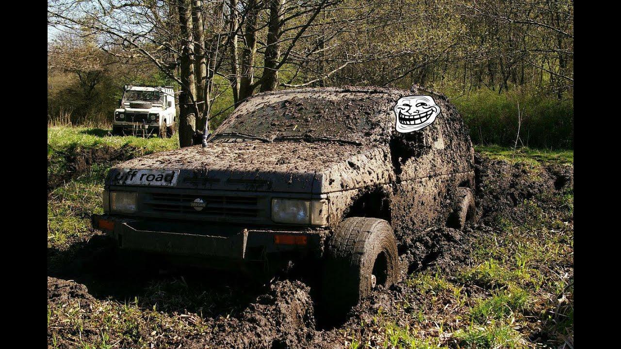 4X4 Off Road >> nissan terrano off road/Pathfinder Off Road 4x4/ ниссан террано по бездорожью - YouTube