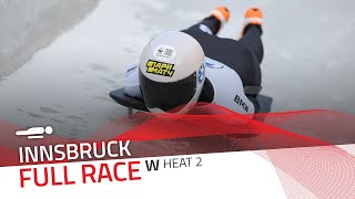 Innsbruck | BMW IBSF World Cup 2020/2021 - Women's Skeleton Heat 2 | IBSF Official