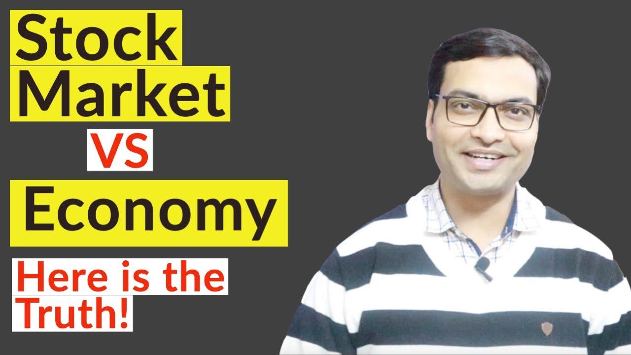 Stock Market VS Economy   Economy and Stock Market relationship   Hindi