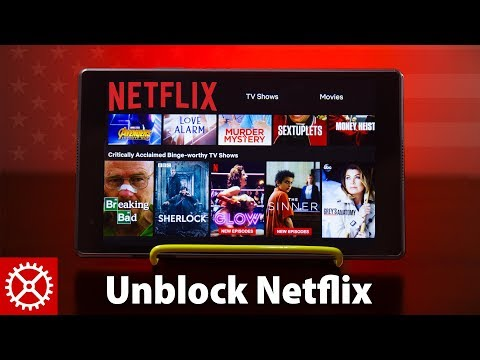 UNBLOCK American NETFLIX With A Smart DNS