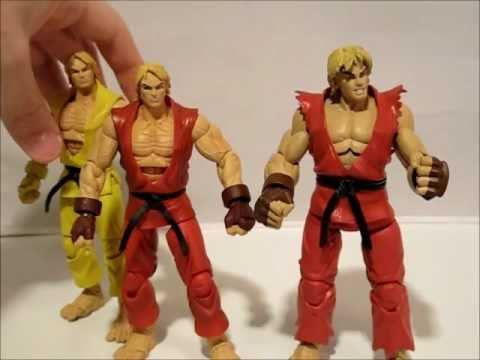 Sota Street Fighter Ken Masters Action Figure Video Review Youtube