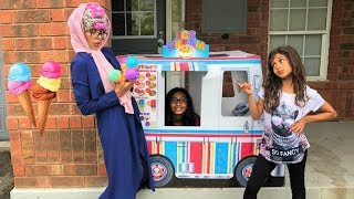 Greedy Granny Buy Ice Cream from the Ice Cream Truck!! Kids Pretend Play