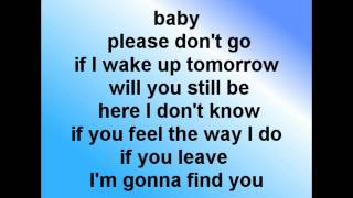 Download mike posner - please don`t go (official lyrics video)