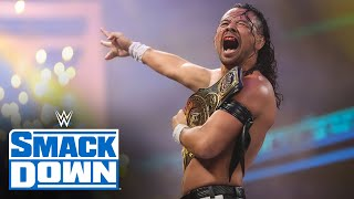 King Nakamura captures the Intercontinental Title from Apollo Crews: SmackDown, Aug. 13, 2021