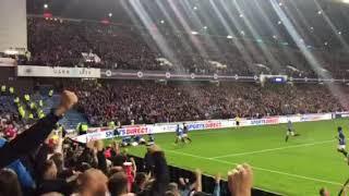 Glasgow Rangers v Osijek. Nikola Katic Goal