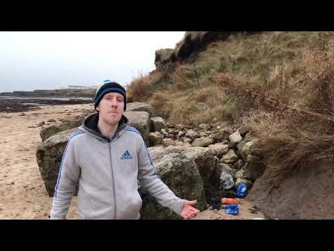 Northumberland Newbiggin - by - sea plastic rescue