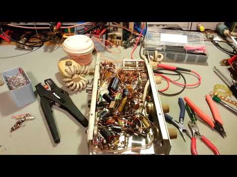 Metrotek Pacer 2 vintage tube type CB radio restoration.
