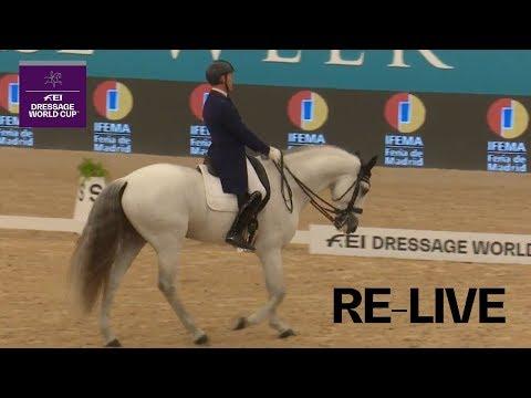 LIVE 🔴   Dressage - Grand Prix   Madrid (ESP)   FEI Dressage World Cup™