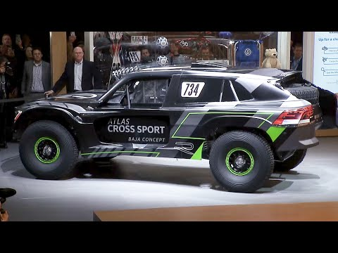 See Volkswagen unveil the Atlas Cross Sport Baja concept (full press conference)