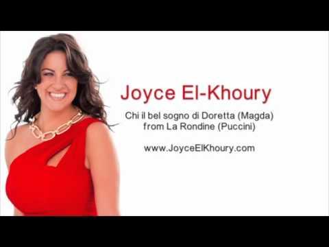 Joyce El-Khoury - Chi il bel sogno di Doretta from La Rondine (Puccini)