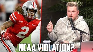 Pat McAfee's Thought on Chase Young NCAA Issue