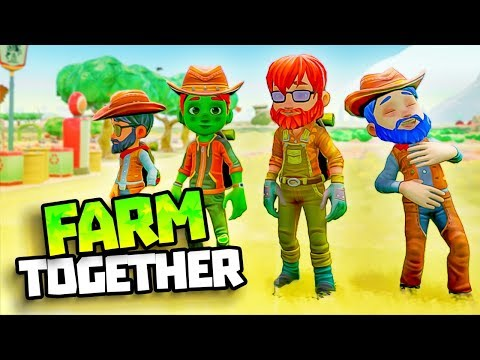 BUILDING THE BEST RANCH! - RAID FARMS - Farm Together Gameplay - Farmville Type Game