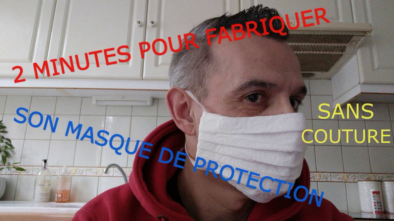 masque protection papier