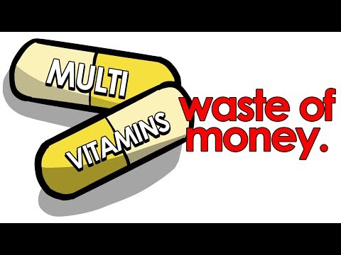 Are Multivitamins a Waste of Money?