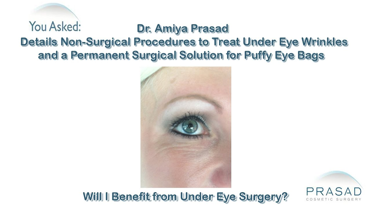 How Non Surgical Procedures Can Treat Under Eye Wrinkles